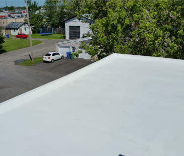 Thermo-Shield on roof in Chambly