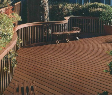 Wood & Deck Coat application